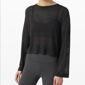 Lululemon Clear and Present Long Sleeve!